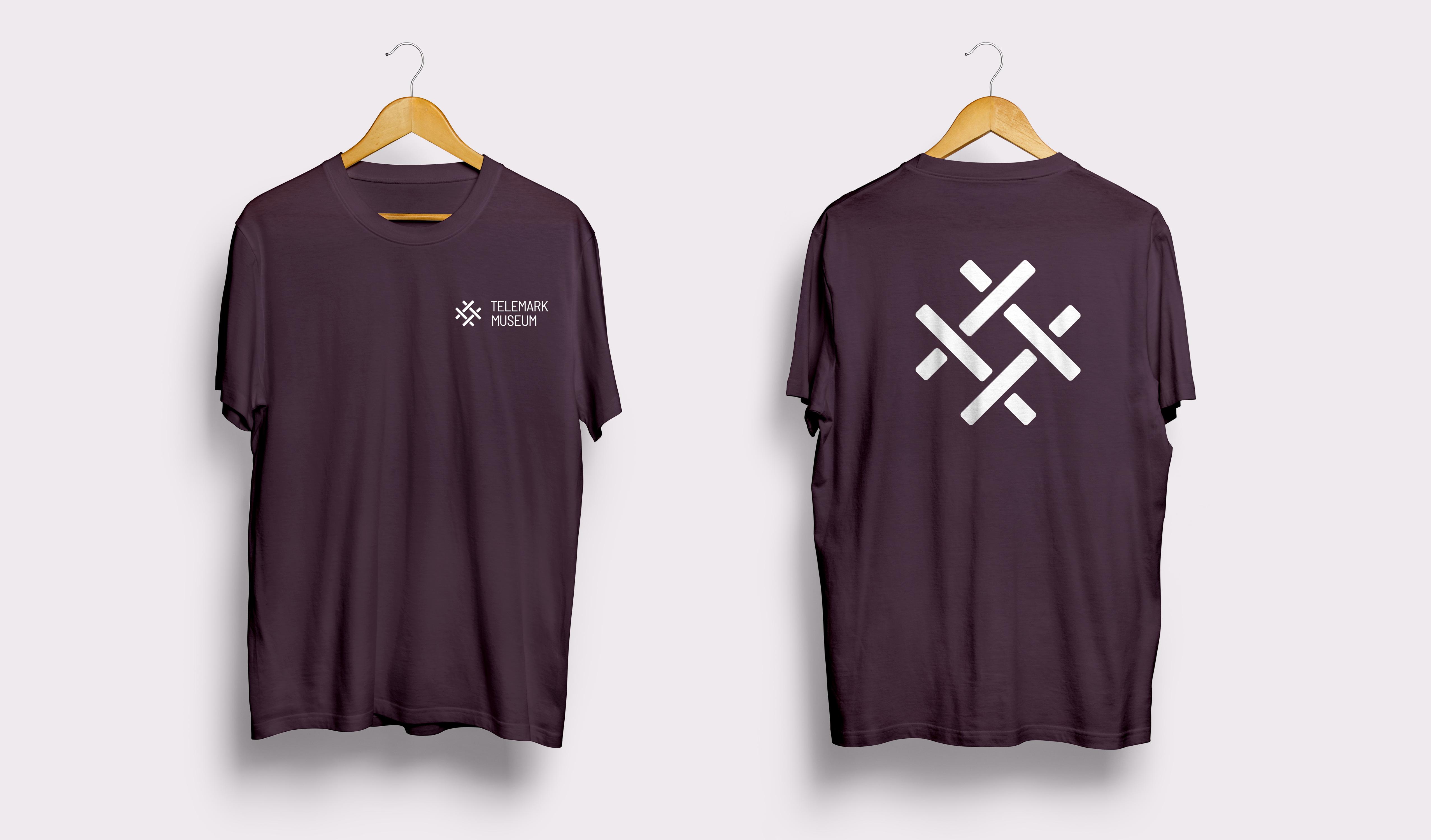 T-skjorter-Plomme